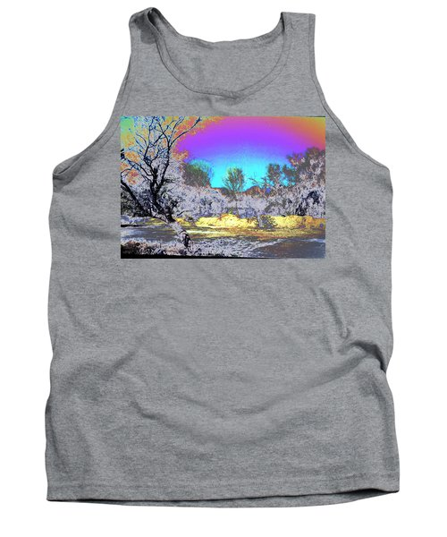 Tanque Verde Wash Abstract Tank Top
