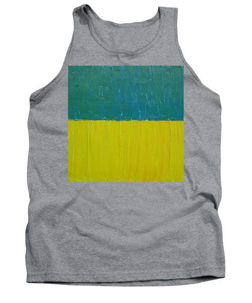 Teal Olive Tank Top