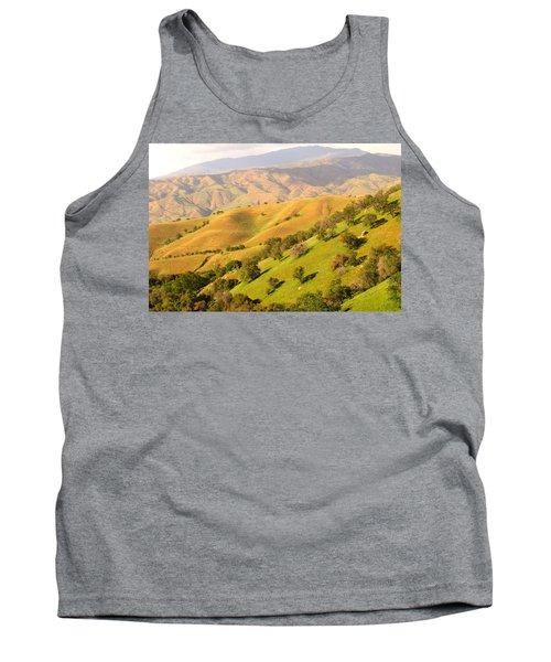 Tehachapi Topography Tank Top