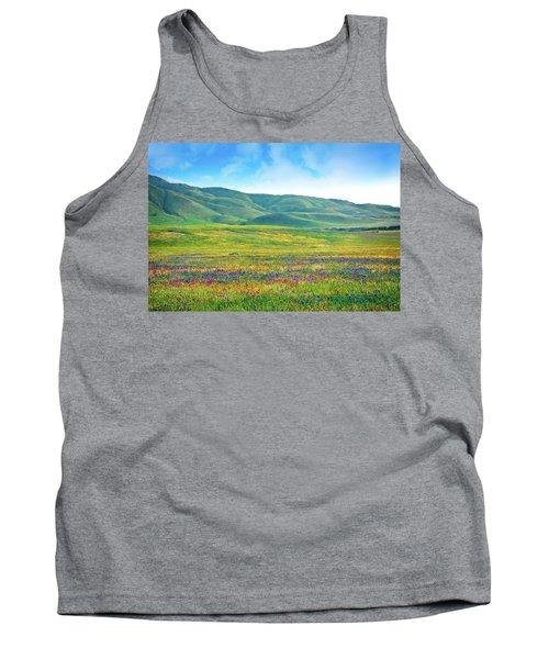 Tejon Ranch Wildflowers Tank Top
