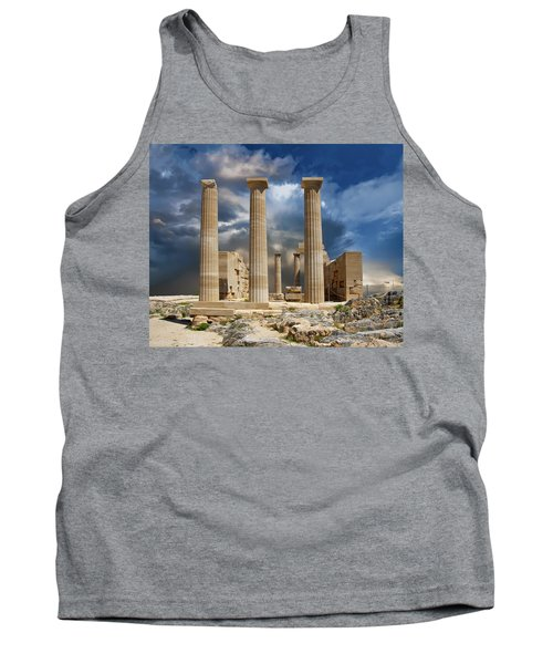 Temple Of Athena Tank Top
