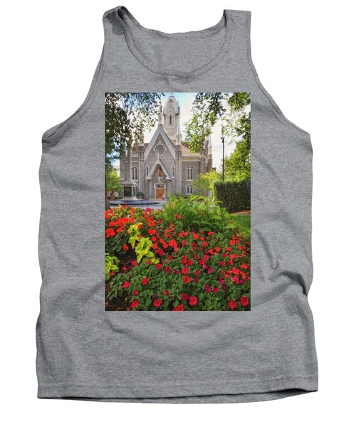 Temple Square Flowers Tank Top