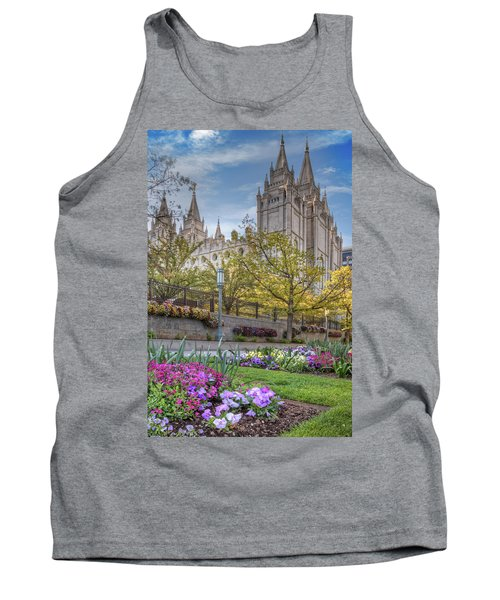 Temple Square Salt Lalke City Utah Tank Top