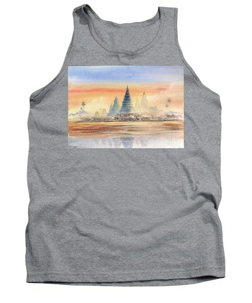 Temples In The Dusk Tank Top