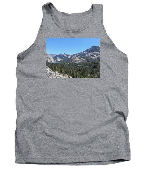 Tenaya Lake And Surrounding Mountains Yosemite National Park Tank Top