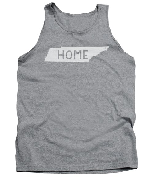 Tennessee Home White Tank Top