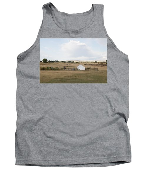 Tents At Fort Laramie National Historic Site In Goshen County Tank Top by Carol M Highsmith