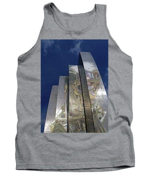 Tank Top featuring the photograph Termination by Christopher McKenzie