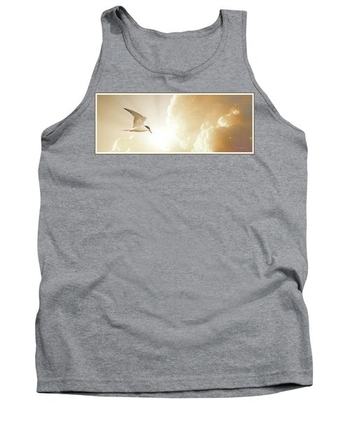 Tern In Flight, Spiritual Light Of Dusk Tank Top