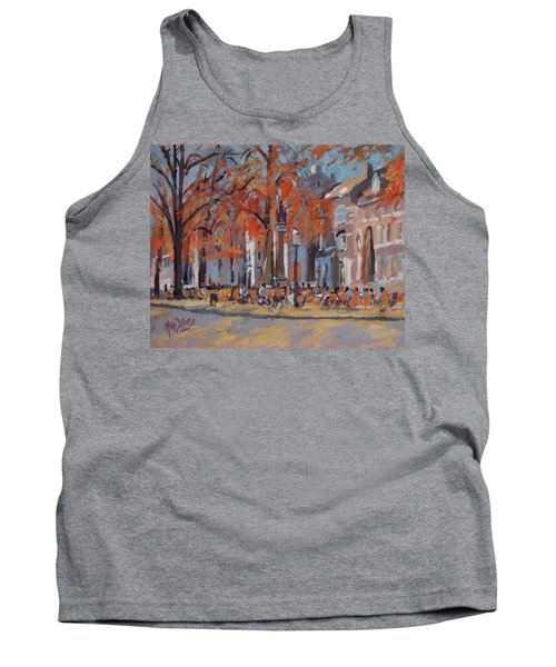 Terrace In The Grand Tanners Street Maastricht Tank Top by Nop Briex