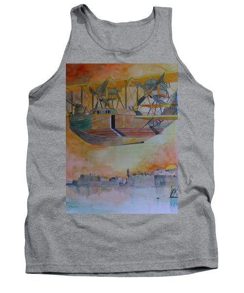 Test Flight Tank Top by Ray Agius