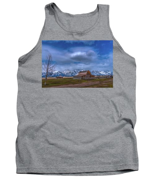 Teton National Park Mormon Row Tank Top