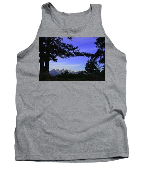 Tetons From The Wedding Trees Tank Top