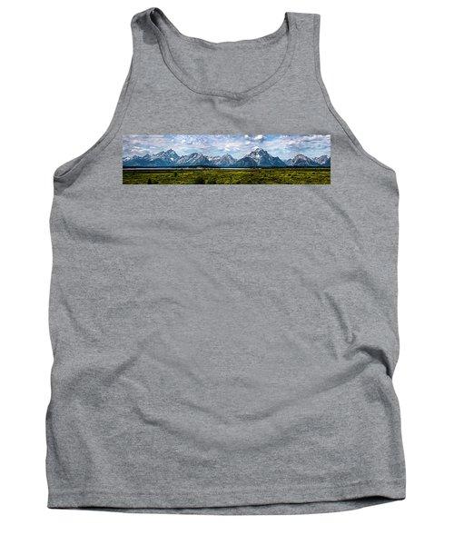 Tetons - Panorama Tank Top