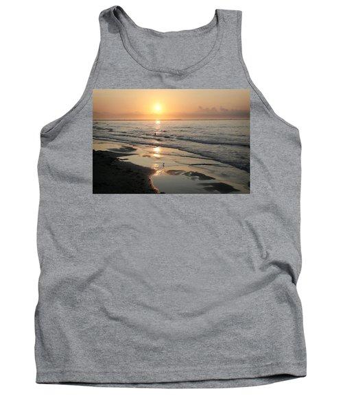 Texas Gulf Coast At Sunrise Tank Top