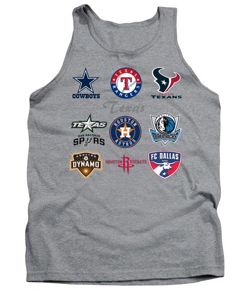Texas Professional Sport Teams Tank Top