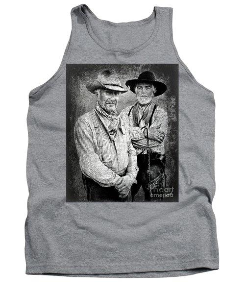 Texas Rangers Gus And Woodrow Paint Edit Tank Top