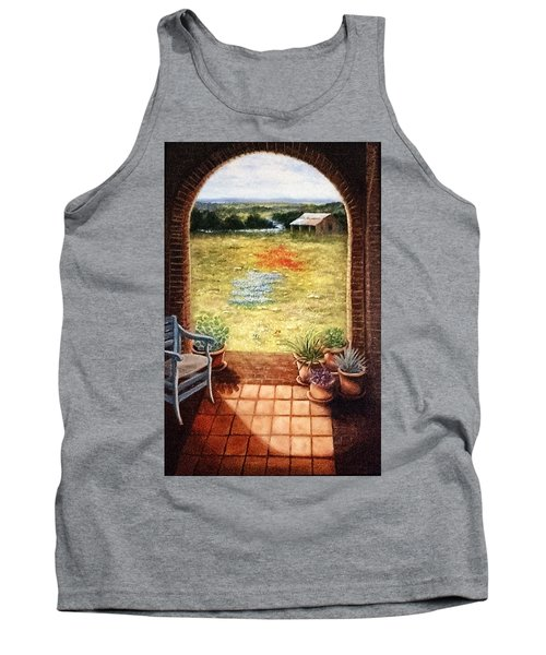 Texas View Tank Top by Patti Gordon