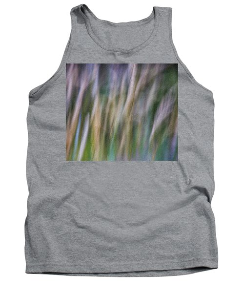 Textured Abstract Tank Top
