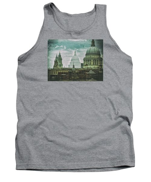 Thamesscape 2 -  Ghosts Of London Tank Top