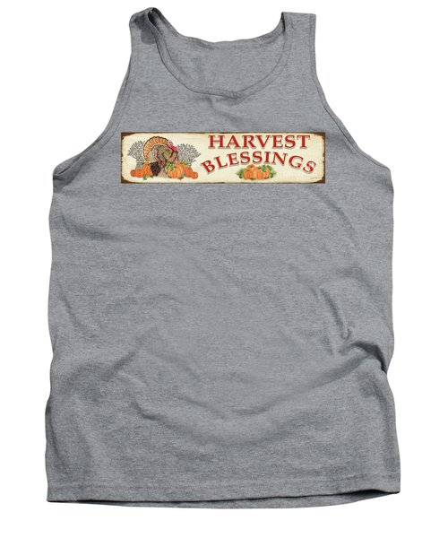 Tank Top featuring the painting Thanksgiving-f by Jean Plout