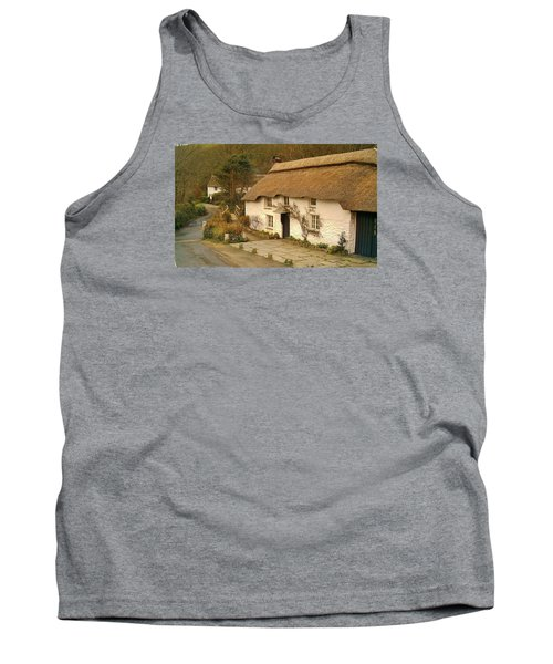 Thatched Cottage By Ford  Tank Top by Richard Brookes