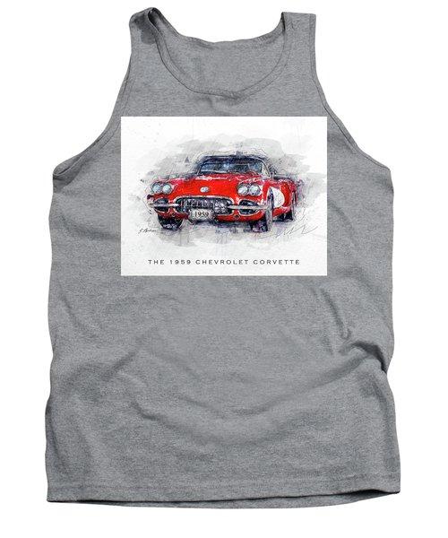 The 1959 Chevrolet Corvette Tank Top