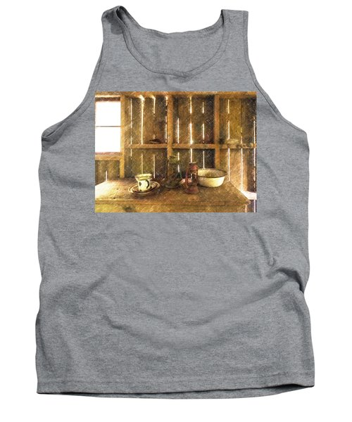 The Abandoned Cabin Tank Top
