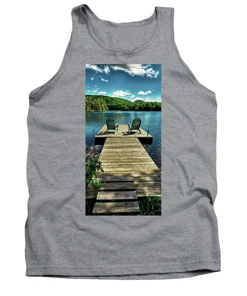 The Adirondacks Tank Top by David Patterson