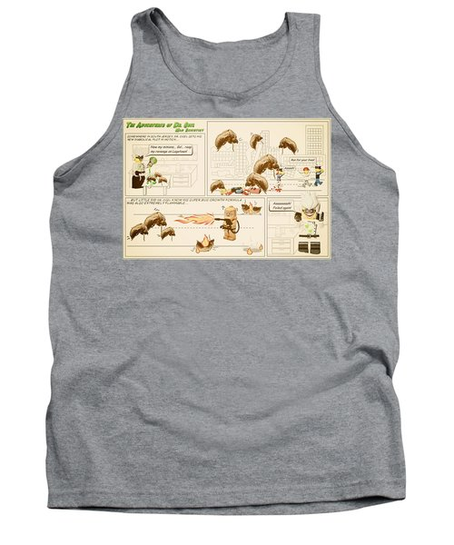 Tank Top featuring the photograph The Adventures Of Dr Ogel by Mark Fuller