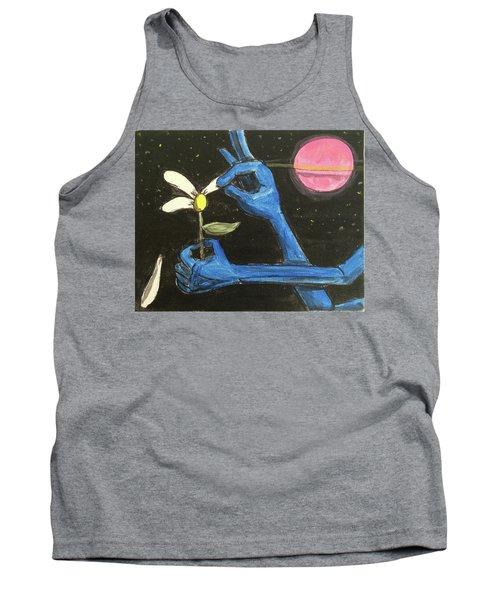 The Alien Loves Me... The Alien Loves Me Not Tank Top