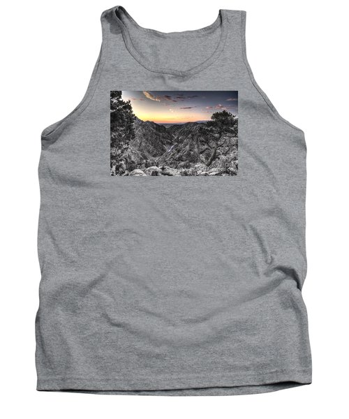 Tank Top featuring the digital art The Arkansas Through Royal Gorge by William Fields