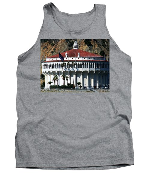 Tank Top featuring the photograph The Avalon Casino by Polly Peacock