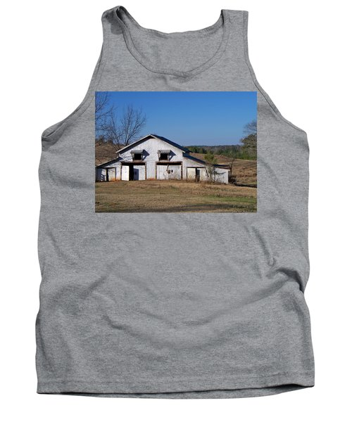 Tank Top featuring the photograph The Barn by Betty Northcutt