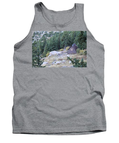 Tank Top featuring the photograph The Barr Trail A Frame by Christin Brodie