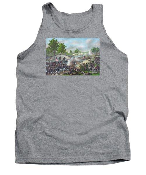 The Battle Of Antietam Tank Top