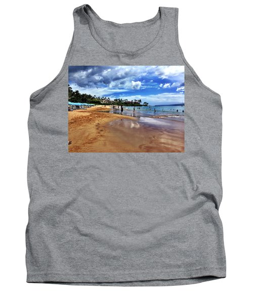 The Beach 2 Tank Top by Michael Albright
