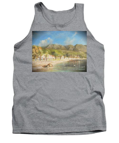 The Beach Of Ipsos Tank Top