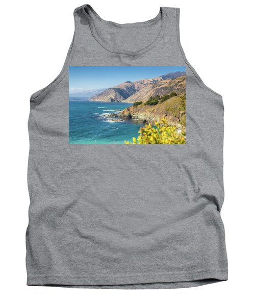 The Beauty Of Big Sur Tank Top by JR Photography