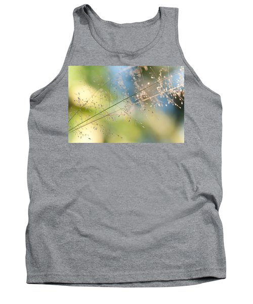 The Beauty Of The Earth. Natural Watercolor Tank Top