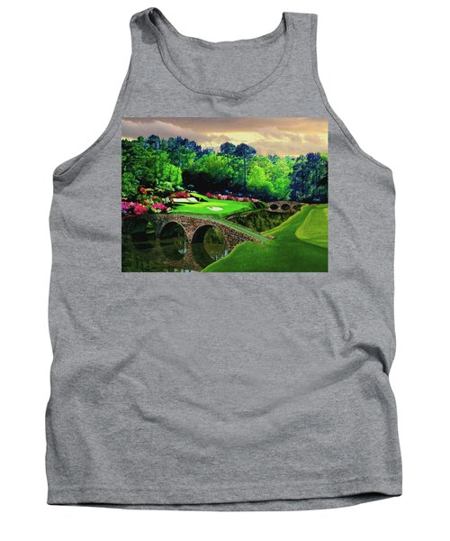 The Beauty Of The Masters Tank Top by Ron Chambers