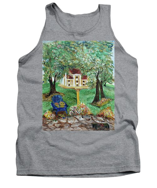 The Best Seat In The House Tank Top