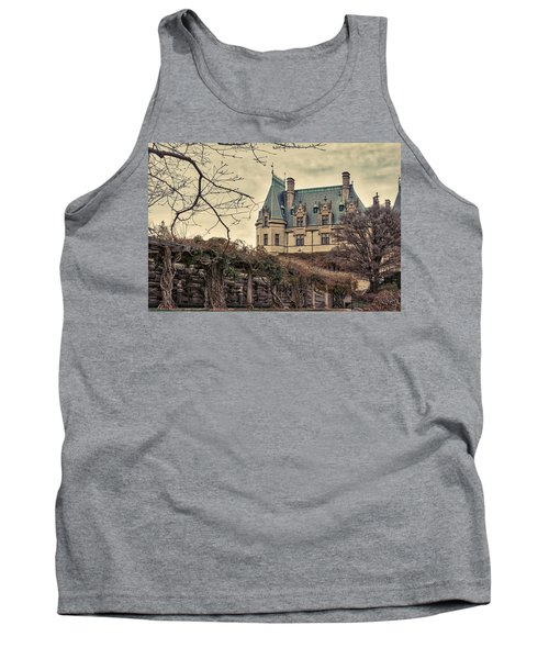 The Biltmore Mansion In The Fall Tank Top