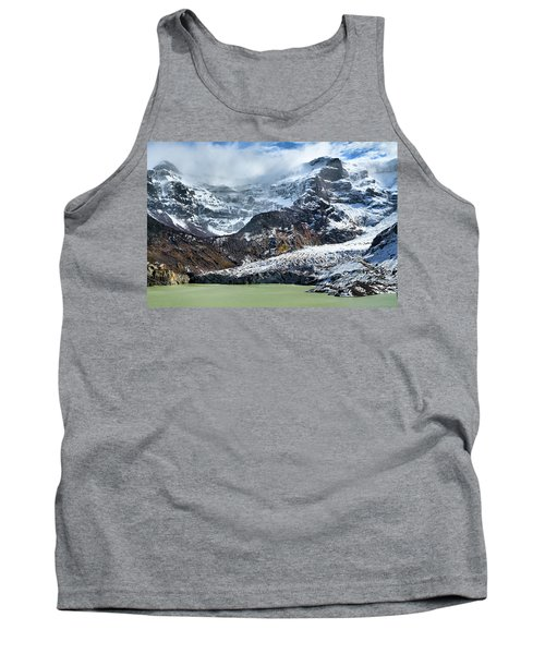 The Black Snowdrift Glacier Tank Top