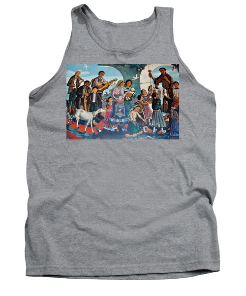 The Blessing Of Animals Olvera Street Tank Top