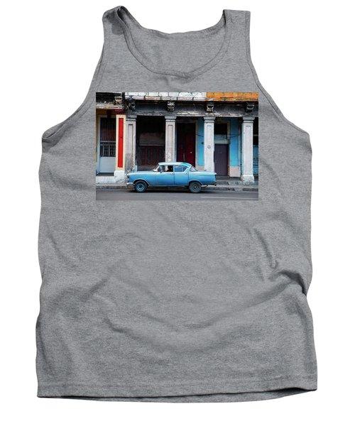 The Blue Car Tank Top