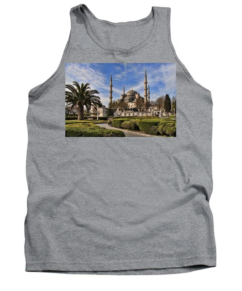 The Blue Mosque In Istanbul Turkey Tank Top