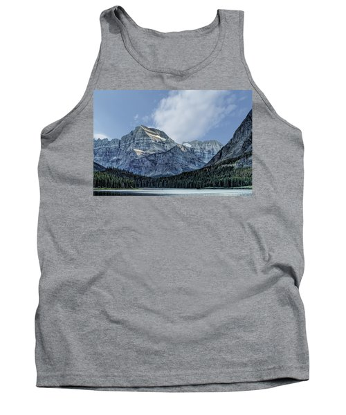 The Blue Mountains Of Glacier National Park Tank Top