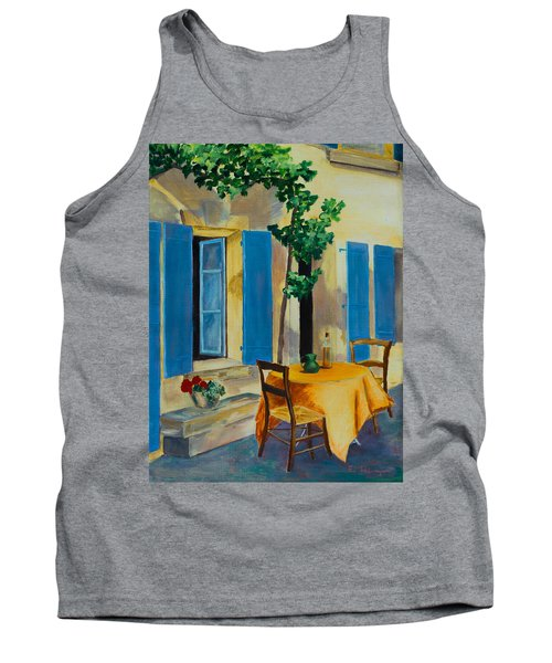 The Blue Shutters Tank Top