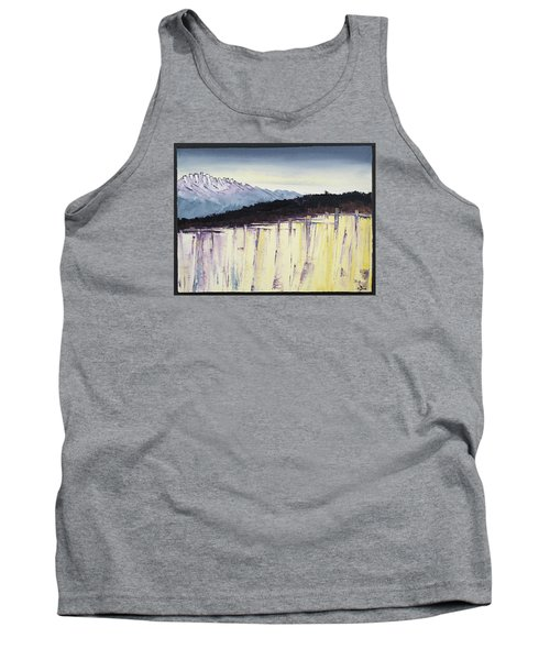 The Bluff And The Mountains Tank Top by Carolyn Doe